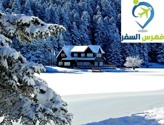 الثلج في تركيا
