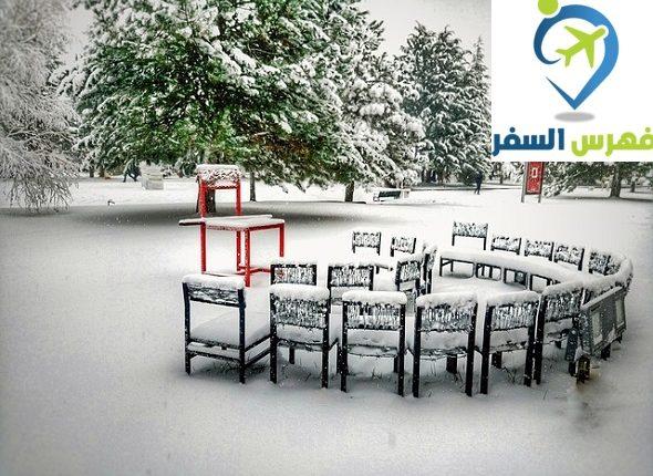 اجمل مدن تركيا في الشتاء