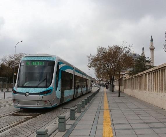 وسائل المواصلات في قونيا