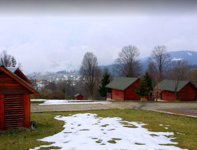 مرتفعات حيدر نبي بالشتاء