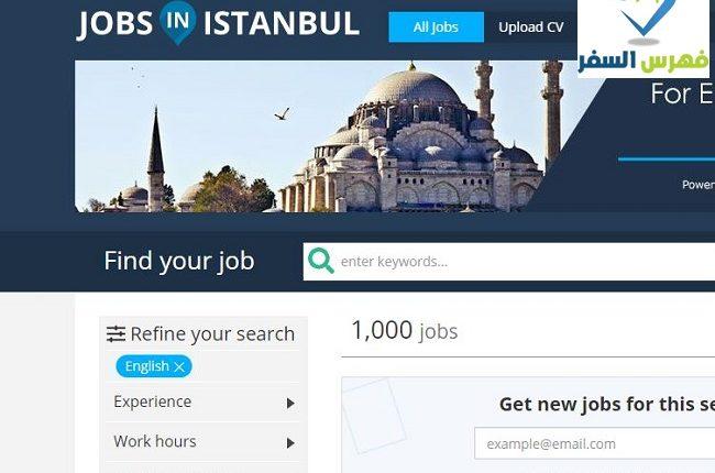 كيفية السفر الى تركيا من مصر للعمل