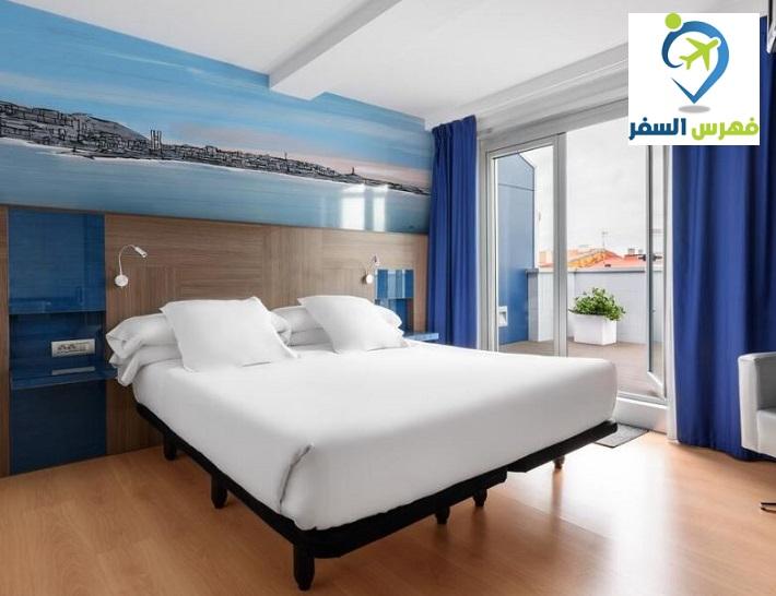 الفنادق في لاكورونيا اسبانيا