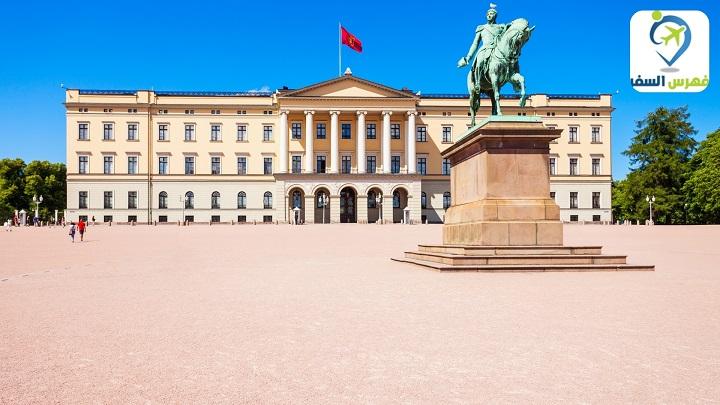 القصر الملكي النرويج