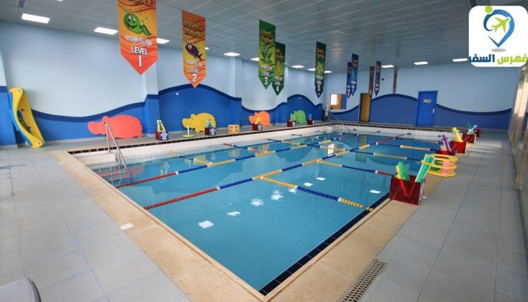 تعليم السباحة للاطفال في الرياض